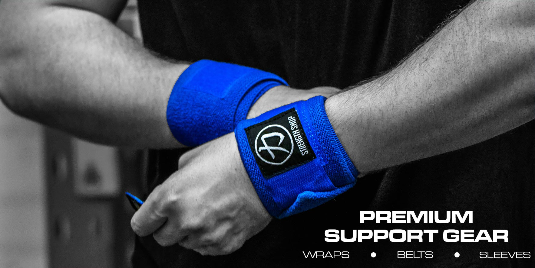 Premium Support Gear Belts Sleeves Wraps