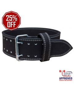 Strengthshop 10mm Double Prong Buckle belt - IPF APPROVED
