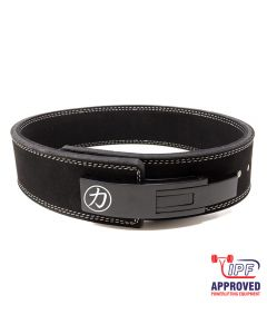 "Strength Shop 10mm Lever Belt 3"" Wide Black - IPF Approved"