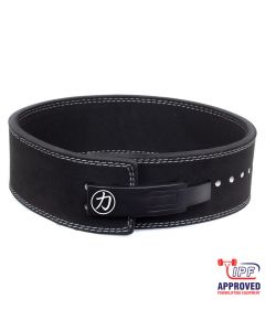 Strength Shop 10mm Lever Belt - Black - IPF Approved