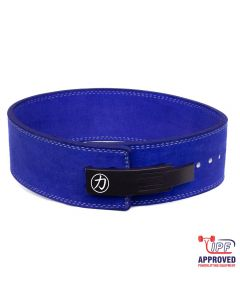 Strength Shop 10mm Lever Belt - Blue - IPF Approved - SIZE S ONLY