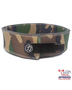 Strengthshop 10mm Lever Belt - Camo - IPF Approved