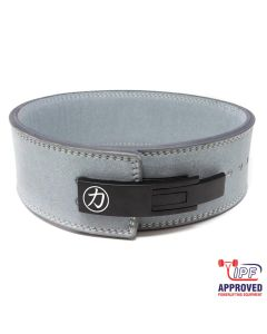 Strengthshop 10mm Lever Belt - Grey - IPF Approved