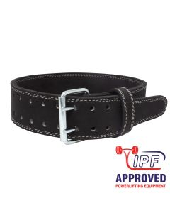 "Strength Shop 10mm 3"" Wide Double Prong Buckle belt - IPF APPROVED"