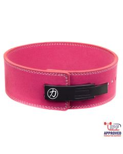 Strength Shop 10mm Lever Belt - Pink - IPF Approved