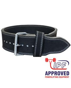 Strength Shop 10mm Single Prong Buckle belt - IPF APPROVED