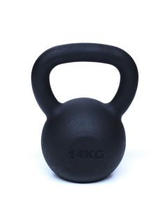 Kettlebell, Black Powder Coated, 14kg