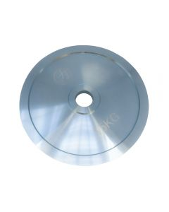 15kg Olympic Extra Thin Competition Style Steel Plate - Zinc Plated