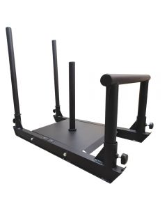 Strength Shop Power Sled - With two poles and low handle