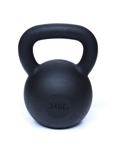 Kettlebell, Black Powder Coated, 24kg