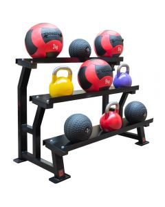 3 Tier Kettlebell/Wall Ball Rack