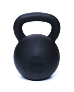 Kettlebell, Black Powder Coated, 32kg