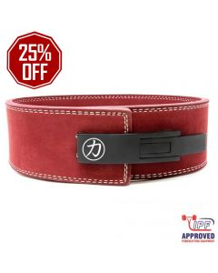 Strength Shop 10mm Lever Belt Maroon - IPF Approved