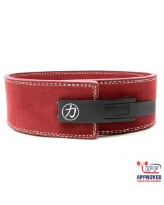 Strengthshop 10mm Lever Belt Maroon - IPF Approved
