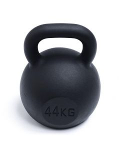 Kettlebell, Black Powder Coated, 44kg