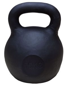 Kettlebell, Black Powder Coated, 56kg