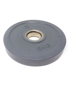 5kg Rubber Coated Plate - Coloured