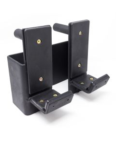 Bar Holders (Pair) for Riot Power Cage and Riot Rigs - Front Pin