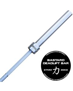 Strength Shop Bastard Deadlift Bar - Chrome Shaft