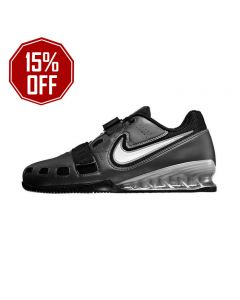 Nike Romaleos 2 - Weightlifting Shoes - Black / Grey