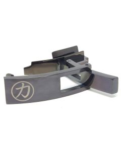 Strength Shop Steel Lever Buckle - Obsidian Black w/lifetime warranty
