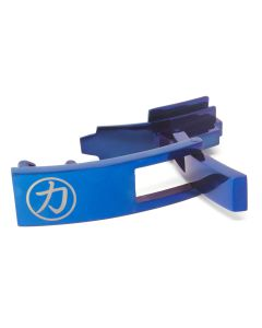 Strength Shop Steel Lever Buckle - Blue w/lifetime warranty