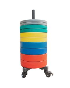 Bumper Plate Stack Stand