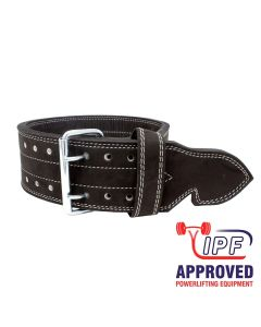 Strengthshop 13mm Double Prong Buckle Belt With Grip - IPF APPROVED M & L ONLY