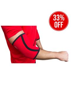 Strength Shop 5mm Neoprene Inferno Elbow Sleeves (Pair) -S + XXXL ONLY