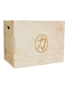 Large Wooden Plyo Box - 30in x 24in x 20in