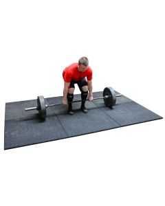 Rubber Olympic Lifting Platform 3mx2m - Set of 6 mats