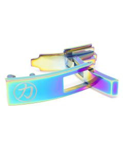 Strength Shop Steel Lever Buckle - Multi Coloured w/lifetime warranty