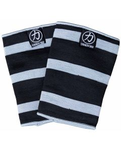 Strength Shop Triple Ply Odin Elbow Sleeves - Grey/Black