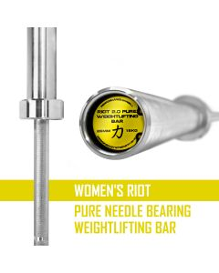 Women's Riot Pure Needle Bearing Weightlifting Bar