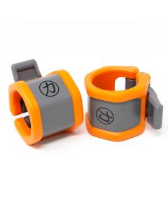 Strength Shop Olympic Riot Collars by Lock Jaw - Orange