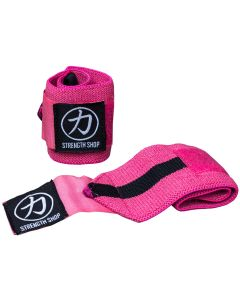 Strength Shop Hercules Wrist Wraps - Pink