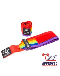 Strength Shop Thor Wrist Wraps - Rainbow - IPF APPROVED