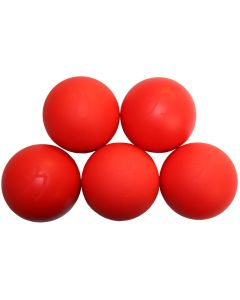 Strength Shop Lacrosse Ball -Red -  5 Pack (Massage)
