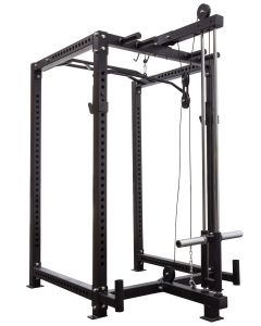 Strength Shop Riot Power Cage With Lat pulldown Attachment- 3mm Thick Steel
