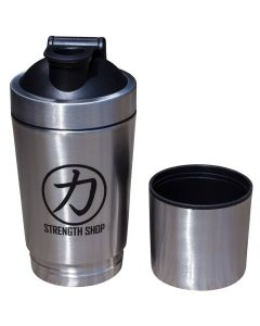 Stainless Steel Shaker with Compartment