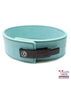 Strengthshop 10mm Lever Belt - Teal - IPF Approved