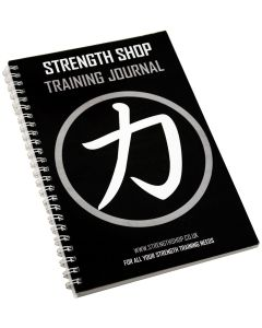 Strength Shop Training Log Journal Book