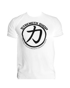 Strength Wear Circle T-Shirt - White
