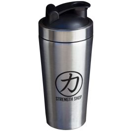 Stainless Steel Strength Shop Shaker w/mixing ball