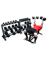 Hex Dumbbell Set (2.5kg - 50kg) - 13 pairs